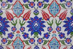 Turco - tejas antiguas hechas a mano del otomano Imágenes de archivo libres de regalías