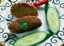 Turco tradizionale Koftes fotografia stock