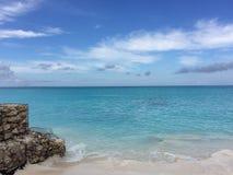 Turcs et plage de la Caïques photos stock