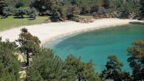 Free Turcuise Lagoon, Thasssos Royalty Free Stock Photo - 19307765