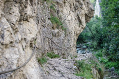 Turda Canyon Royalty Free Stock Images