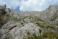 The Turda gorge. Cheile Turzii, in Transylvania, Romania stock images