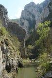 The Turda gorge. Cheile Turzii, in Transylvania, Romania royalty free stock photos
