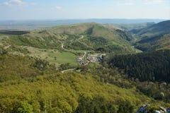 The Turda gorge. Cheile Turzii, in Transylvania, Romania royalty free stock photo