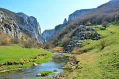 Turda gorge entrance. Royalty Free Stock Photography