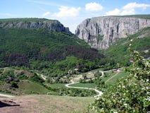 Turda kanjon Royaltyfri Fotografi