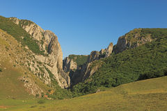 Turda's canyon Stock Image
