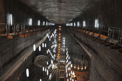 Turda Salt mine Royalty Free Stock Image