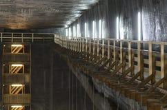 Turda Salt Mine Stock Photo