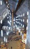 Turda Salt Mine big hall Royalty Free Stock Photos