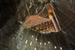 Salt mine Stock Photography