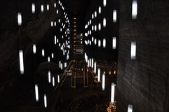 Turda salt mine Stock Photography