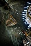 Turda salt mine - Romania Stock Photography