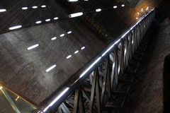 Turda Salt Mine, Romania. Inside Turda Salt Mine, Transylvania, Romania Royalty Free Stock Image