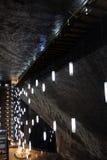 Turda Salt Mine, Romania. Inside Turda Salt Mine, Transylvania, Romania Stock Images