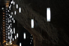 Turda Salt Mine, Romania Royalty Free Stock Photos