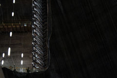 Turda Salt Mine, Romania. Inside Turda Salt Mine, Transylvania, Romania Royalty Free Stock Photo