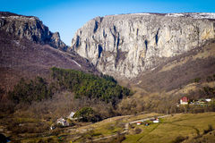 Turda wąwóz - Cheile Turzii, Transylvania, Rumunia Obrazy Royalty Free