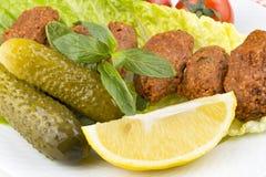 Tureccy foods; cig kofte Fotografia Royalty Free