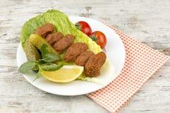 Tureccy foods; cig kofte Zdjęcia Stock
