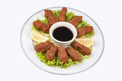 Tureccy foods; cig kofte Fotografia Stock