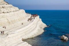 Tureccy kroki, Agrigento, Sicily Obrazy Stock