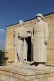 Tureccy mężczyzna rzeźbią lokalizują przy wejściem droga Lio Zdjęcia Royalty Free