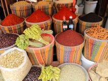 Turecczyzna, Gaziantep, 24 Czerwiec, - 2019: Dziejowi Uroczyści bazarów produkty zdjęcie stock