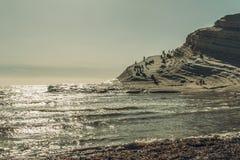 Turecczyzna kroki w Agrigento Fotografia Stock