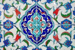 Turecczyzna - Osmańskie ręcznie robiony antyczne płytki obrazy royalty free