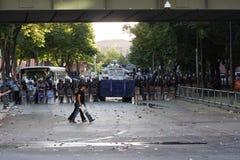 Turecczyzna protest w Ankara Obrazy Royalty Free