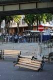Turecczyzna protest w Ankara Obrazy Stock