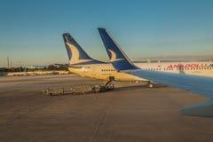 Turecczyzna samolot zdjęcie stock