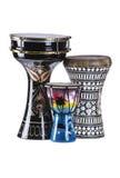 Turecczyzny, egipcjanina i afrykanina bębeny, Obraz Royalty Free