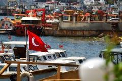 Turecczyzny flaga Obraz Royalty Free