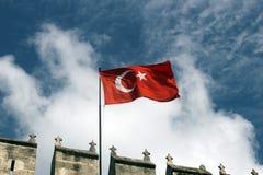 Turecczyzny flaga Fotografia Stock