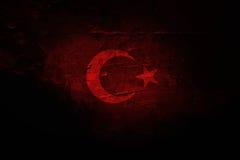 Turecczyzny flaga, Turcja, Chorągwiany projekt Obraz Royalty Free