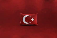 Turecczyzny flaga, Turcja, Chorągwiany projekt Obrazy Royalty Free