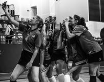 Turecczyzny Korfball mistrzostwa nagród ceremonia Obraz Stock
