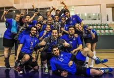Turecczyzny Korfball mistrzostwa nagród ceremonia Fotografia Royalty Free