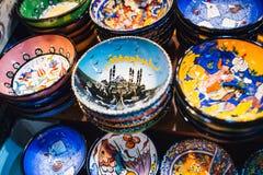 Turecczyzny płytki talerz Fotografia Royalty Free