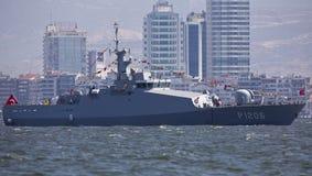 Turecka żołnierz piechoty morskiej łódź patrolowa Obrazy Stock