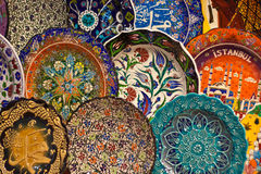 Turecka ceramiczna sztuka Fotografia Royalty Free