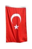turecka flaga Zdjęcia Royalty Free