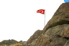 Turecka flaga państowowa Obraz Stock