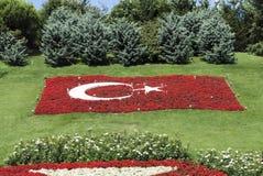 Turecka flaga państowowa Zdjęcia Stock