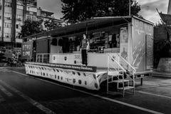 Turecka gwiazdy promoci ciężarówka Fotografia Stock