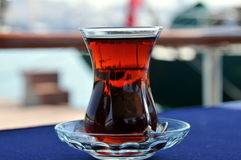 Turecka herbata fotografia stock