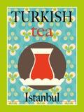 Turecka herbata Obrazy Stock