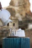 Turecka herbata Fotografia Royalty Free